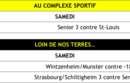 Programme match : week-end du 13/14 avril 2019